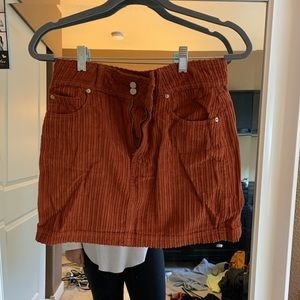 BDG Burnt Orange skirt